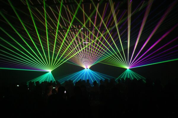 Lasershow Hald und Grunemann