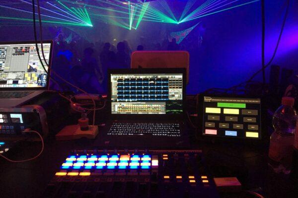 Laser Live Operating