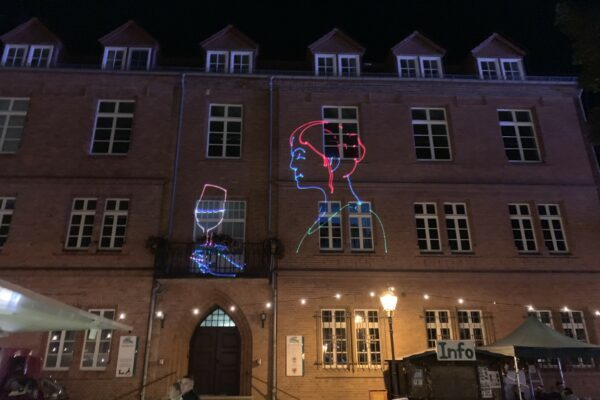 Lasershow Stadtfest