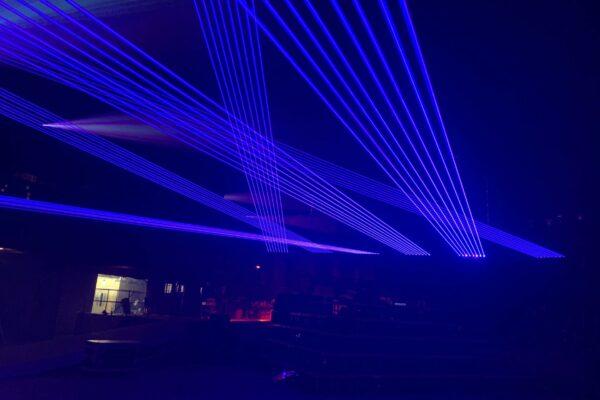 Laser Beambar buchen