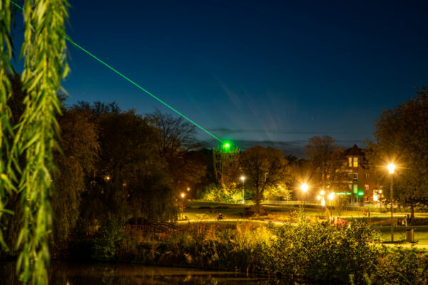 Laserstrahl ein Sxybeam