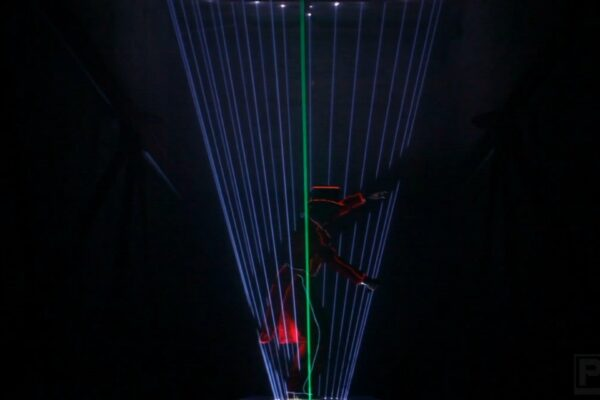 Lasershow Laserman