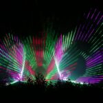 Lasershow Golfplatz Motzen
