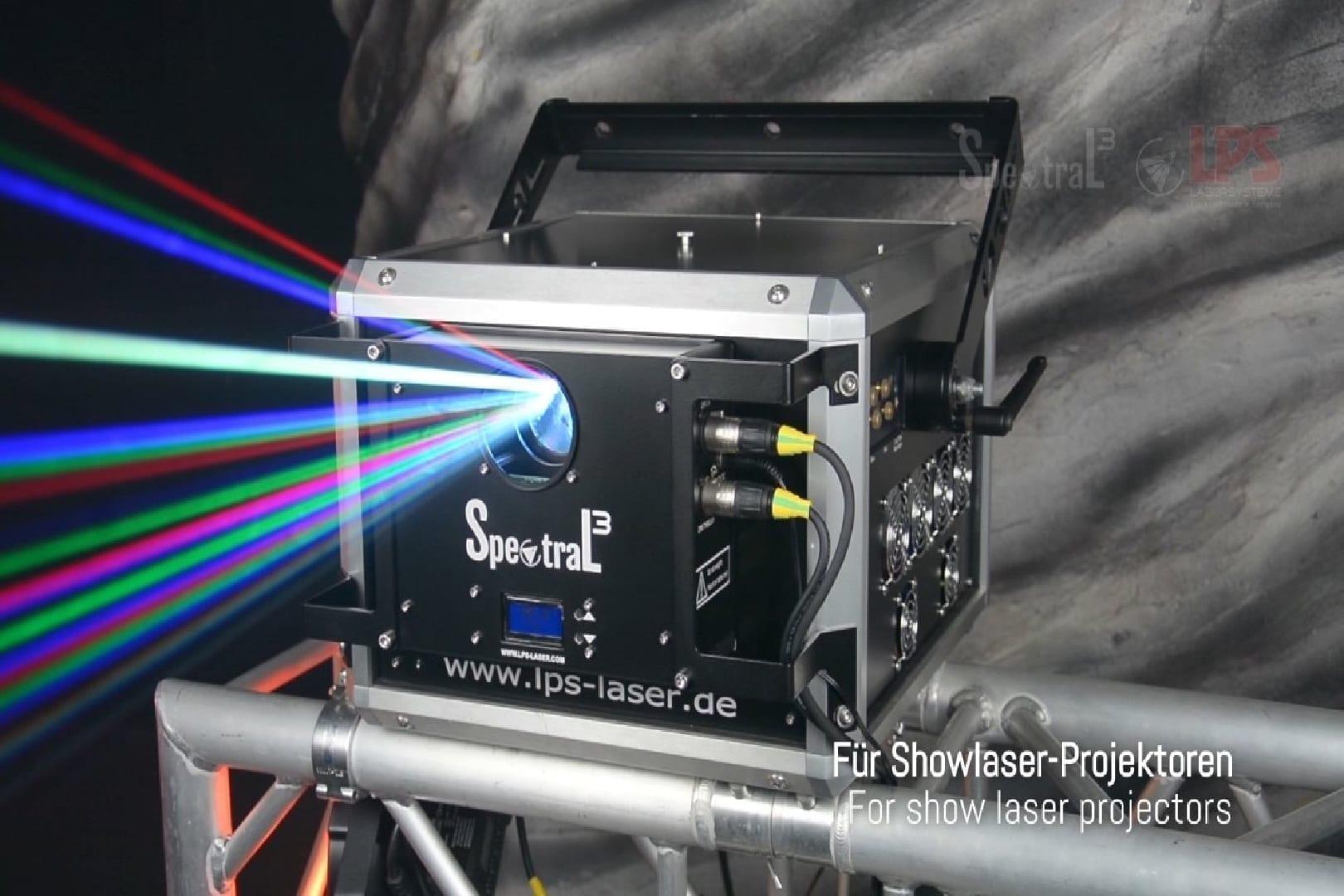 LPS Spektral Aufsatz für LPS Bax Laser
