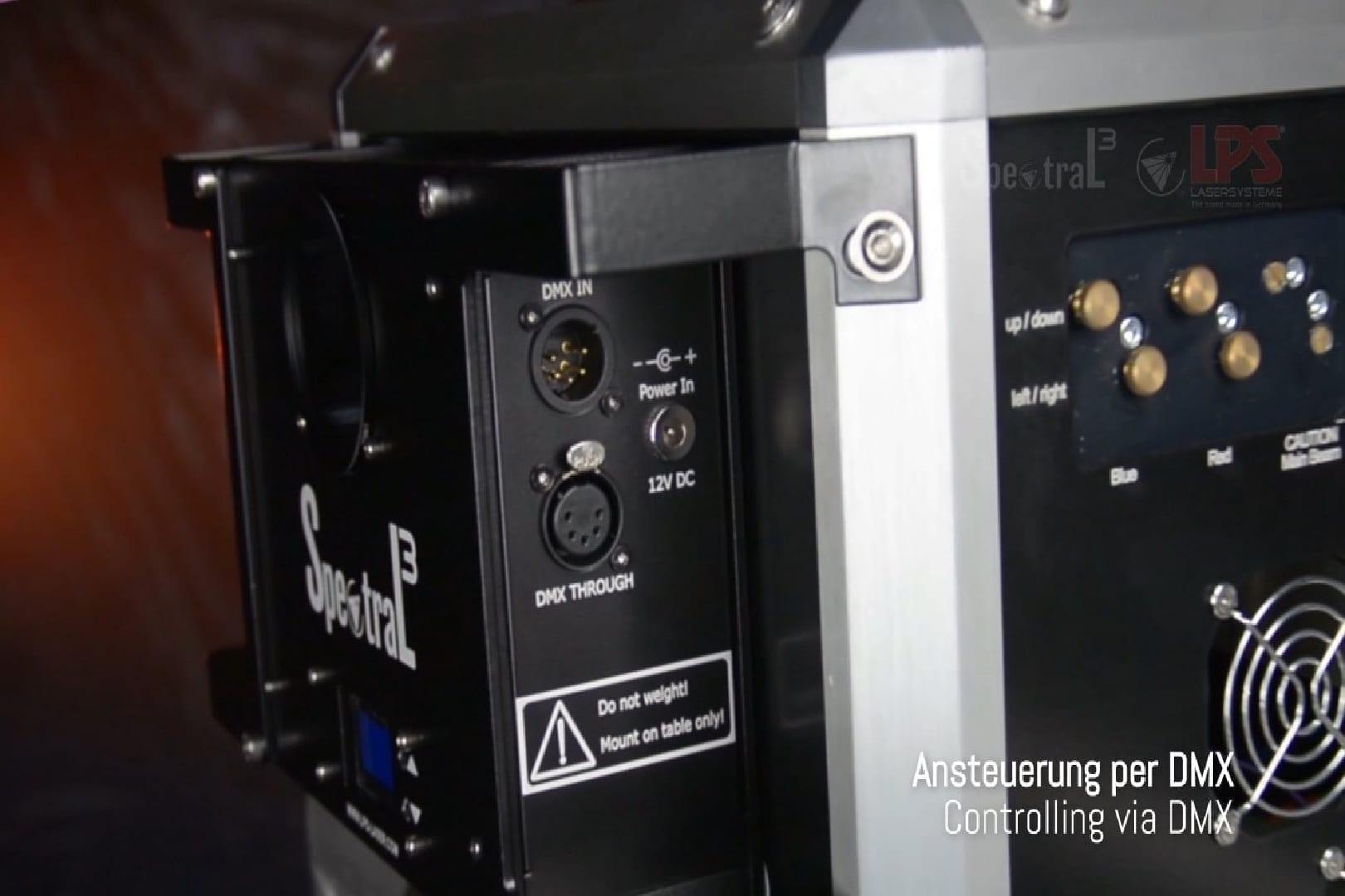 LPS Spektral Aufsatz für Laser