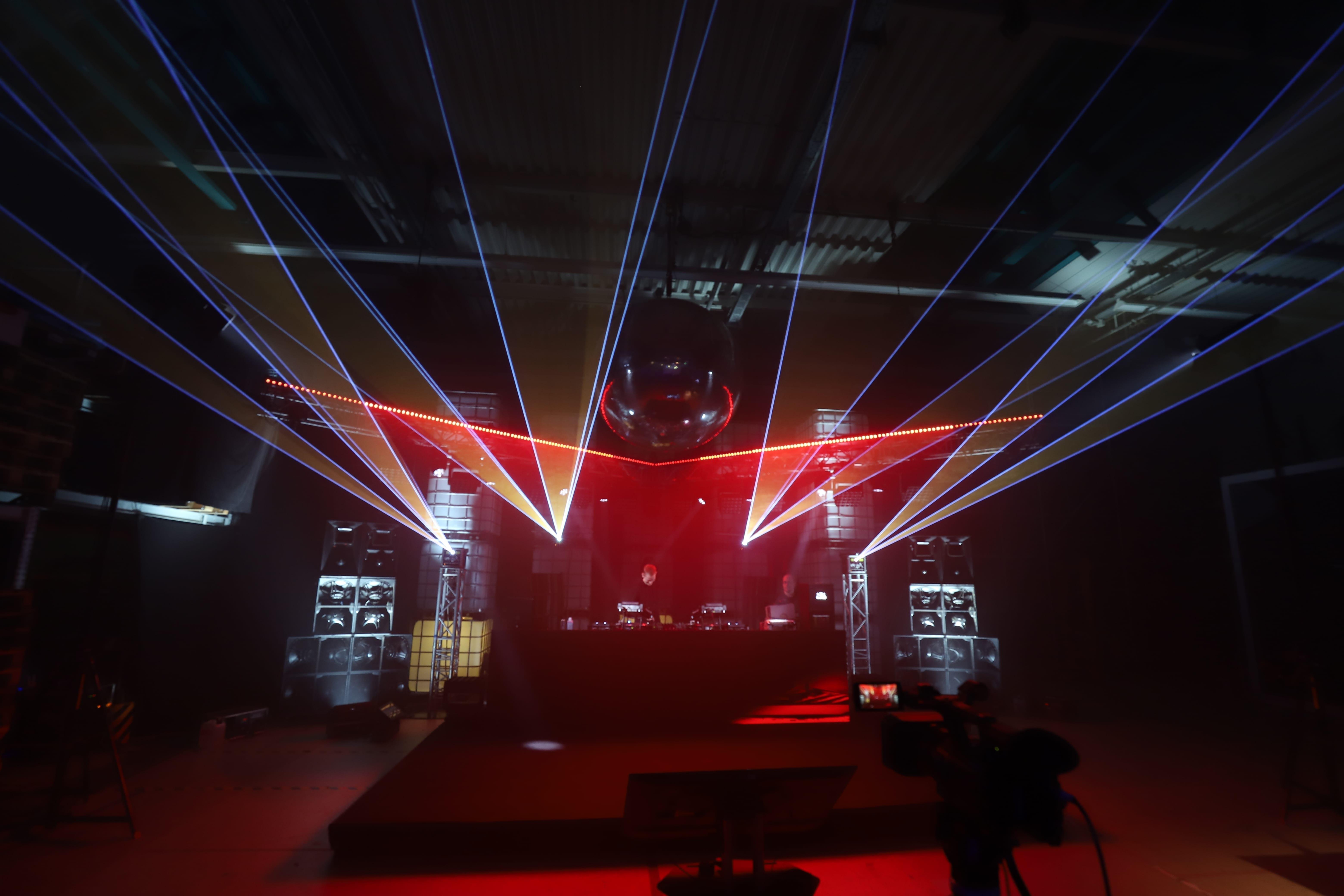 Laser bei Berlin Classic